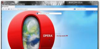 browserul Opera