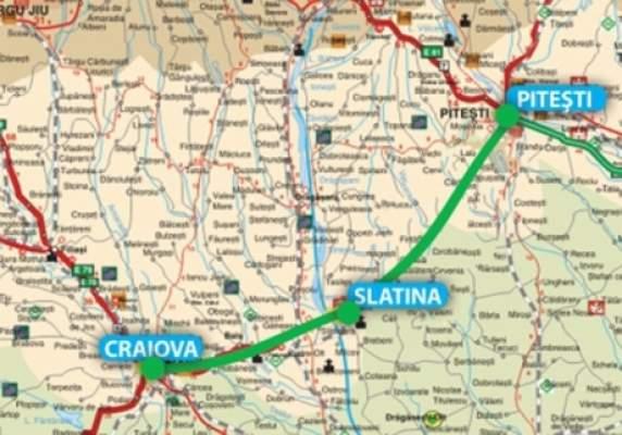Construirea autostrăzii Craiova-Pitești