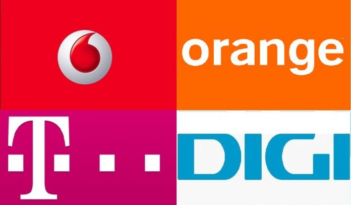 Orange, Romtelecom si Vodafone