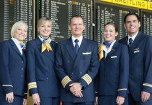 traficul companiei aeriene germane Lufthansa