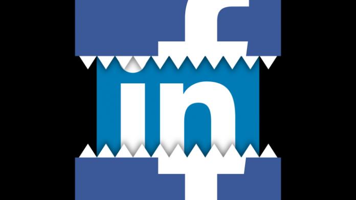 Facebook ia în vizor LinkedIn