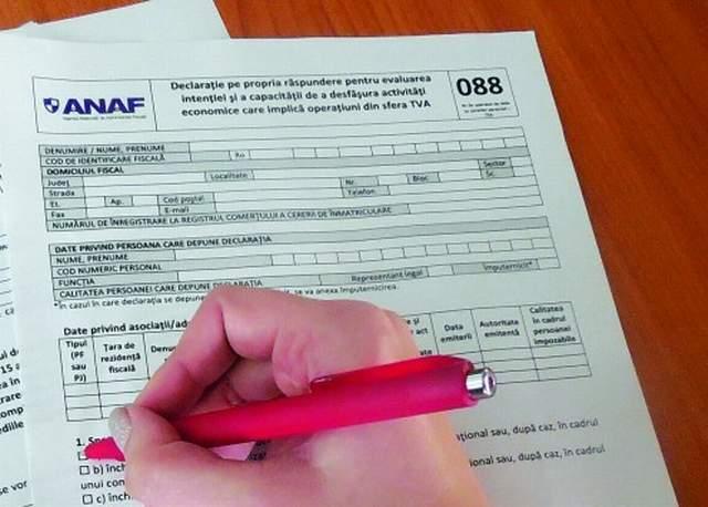 A fost eliminat celebrul formular 088 al ANAF