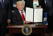 Trump interzice călătoriile în SUA pentru cetăţenii din şapte ţări din Orientul Mijlociu,