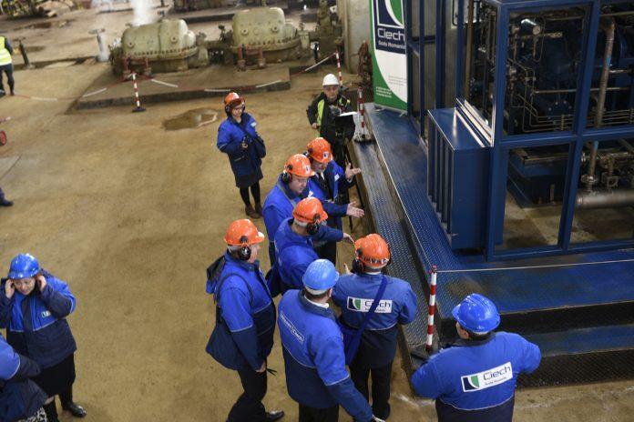 Vizita CSR - inaugurare compresor