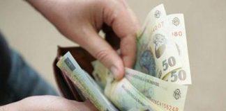 Salariul mediu net pe economie a crescut cu 3% în ritm lunar şi cu 13,2% în ritm anual