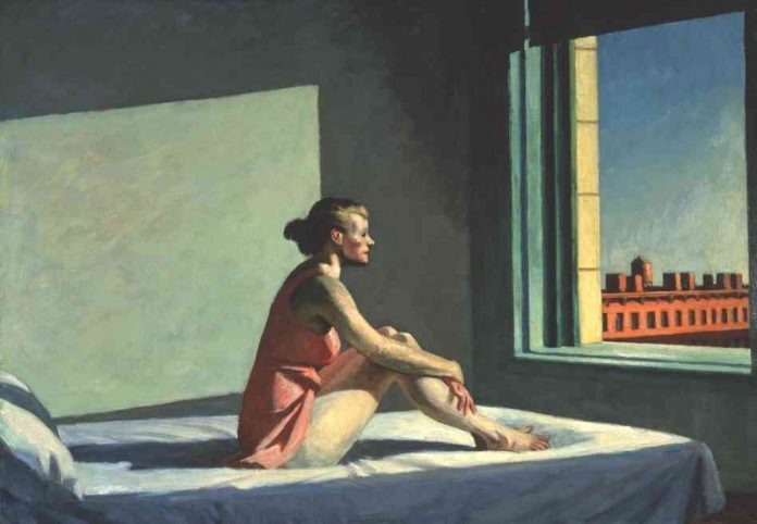 Morning Sun, Edward Hopper