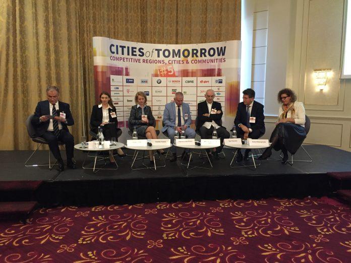 CINCI PROIECTE ALE PRIMĂRIEI ORADEA, PREZENTATE LA EVENIMENTUL CITIES OF TOMORROW, BUCUREȘTI 2017