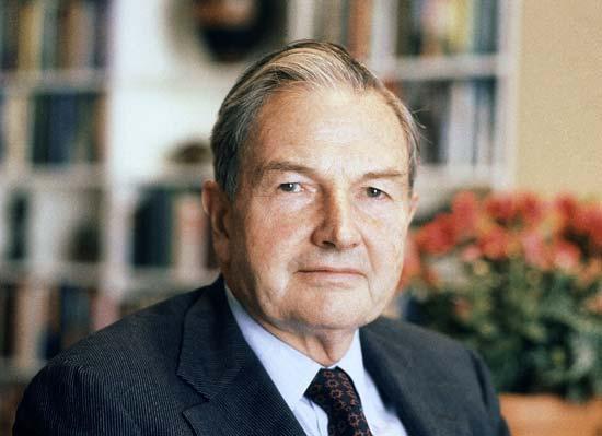 Miliardarul David Rockefeller