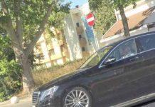Dan Voiculescu in masina cumparata din pensia de 1000 de lei