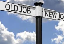 Schimbarea locului de muncă