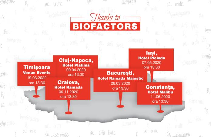 Biofactorii în patologia umană