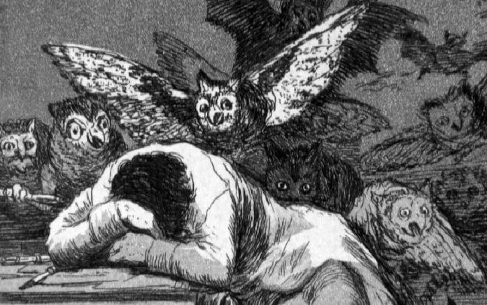 Somnul ratiunii naste monstri